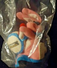"Pink Eveready Energizer 7"" Plush Bean Bag Bunny Rabbit with Drum Nip 1997"