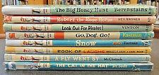 8 BK Set: I Can Read Beginner Books Seuss Eastman Berenstain Children Scarce