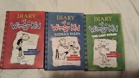 Diary of a Wimpy Kid Box of Books 1-3 by Jeff Kinney (2012, Book, Other)