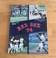 Boston Red Sox Fenway Park Official 1974 Program Scorebook Magazine 1st Ed