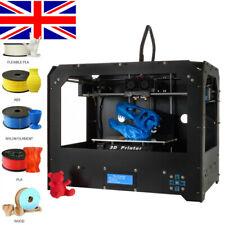 2019 Upgraded 3D Printer High Precision Dual Extruder 3D FDM Printer with PLA
