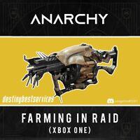 Anarchy XBOX 1 CROSSAVE TO XBOX (tries until get it) farming