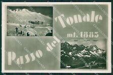 Brescia Passo del Tonale Sci Foto cartolina QK6845
