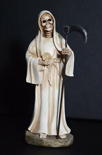 "La Santa Muerte 5"" Grim Reaper - Death Color White-Skull, Skeleton Decoration"