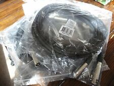 New 5 Pack 20' Microphone Cables Brand New: MLC20 20' Microphone Cable 5-Pack