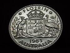 Australia  1963 Florin.. Proof..   Mintage-5042