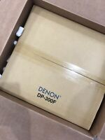 Denon DP-300F Turntable With Pre-Aligned Ortofon 2M Red Cartridge *EXTRAS* NEW