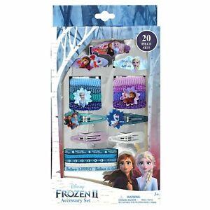 Frozen 2 Girls 20 Pack Hair Accessory Set