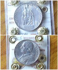 MONETA CITTA' DEL VATICANO 10 LIRE PIO XI 1932 sigillata SPL/FDC SUBALPINA