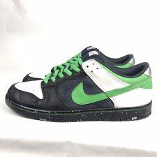 Rare Nike Dunk Low 6.0 Grey Green Black Silver 2008 Men's Size 11, 314142-031