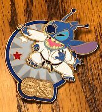 Disney Pin Stitch Judo USA Olympic Logo Slider LE Karate
