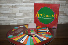 Articulate! Board Game - Fast Talking Family Board Game Age 12+ Ex Cond