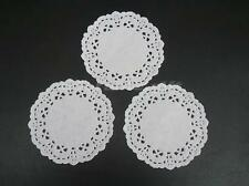 "100x Paper Lace Doilies Small 3.5"" 8.8cm Wedding Party Decorations Doily Cake"