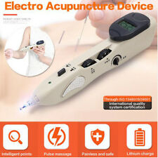 Stimulator CE LCD Electronic Massage Acupuncture Meridian Pen Pain Relief Body