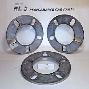pair (2)6mm thick, Universal PCD - 5 Hole Standard Wheel Spacer- (SP14) GRAYSTON