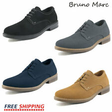 Bruno Marc Mens Casual Shoes Suede Lace up Wing Tip Oxford Shoes Dress Shoes