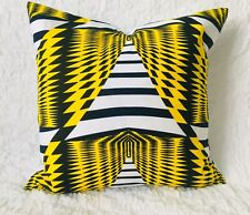 Handmade Cushion Cover | Aztec Print | Zip Fastening | NEW
