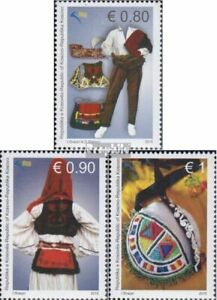 kosovo 316-318 (complete issue) unmounted mint / never hinged 2015 Costumes