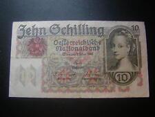 10 Schilling 1946 Banknote  Österreich  W/18/345