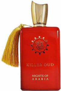 Nights of Arabia Killer Oud - Unisex - EDP 100ml Fragrance Spray by Paris Corner
