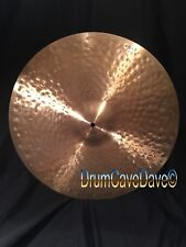 "AWESOME 22"" ZILDJIAN 2006 K CONSTANTINOPLE RIDE CYMBAL, 2954 g, EUC, DEMO VIDEO!"