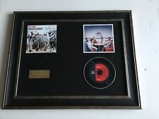PERSONALLY SIGNED/AUTOGRAPHED BOYZONE -DUBLIN TO DETROIT FRAMED CD PRESENTATION.