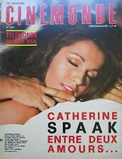 CINEMA CATHERINE SPAAK MINNELLI STERN VLADY FARROW  N° 1814 CINEMONDE 1969