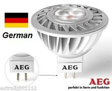 New 4x GermanAEG 6W 40W LED MR16 GU5.3 350lm brighterthan Philips Master Osram