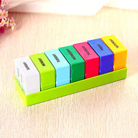 7 Day Pill Box Holder Medicine Dispenser Organizer Tablets Case Storage Weekly