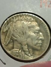 Very Collectible 1929-S Buffalo Nickel Choice Xf- Full Horn