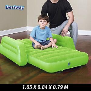 Bestway Inflatable Kids Air Mattress Traveller Bed Sleeping Mat Single