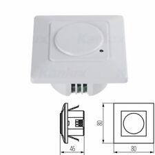 Wall Ceiling Mounted PIR Motion Microwave Sensor Detector 180 Degree 9 Meter