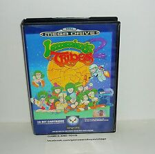 JEU MEGADRIVE LEMMINGS THE TRIBES