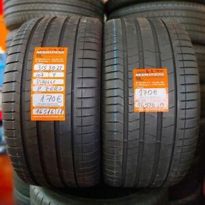 2 x 315 30 R22 107Y RFT XL 6.2mm+6.2 mm DOT 18/19 Pirelli Pzero Ref. 16516