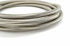 20 Feet - 8AN Stainless Steel Braided Hose for Fuel Oil Coolant Air -8 AN