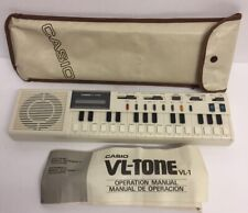 Casio VL-Tone VL-1 Vintage 1980's Compact Electronic Keyboard & Synthesizer work