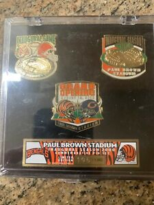 NFL- Paul Brown Stadium- Inaugural Season- - Limited Edition Pin Set 195 of 1000