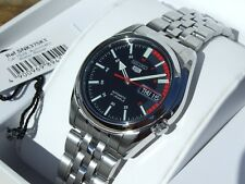 Seiko 5 Reloj Automático para Hombre 21 joyas esqueleto Back Racer SNK375K1 Reino Unido Vendedor