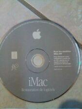 CD rom install APPLE imac DV F691-2777-A mac version 9.0.4 restauration logiciel