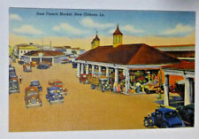 New French Market. New Orleans, La. Unused Vintage Post Card
