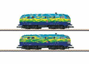 "88789 Marklin Z-scale Double pack  DB AG class 218 diesel locomotives ""Tourism"""