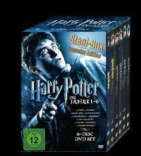 HARRY POTTER - DIE JAHRE 1-6 (6 DVD STEEL-BOX)  NEU/OVP