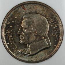 1936 Cleveland Half Dollar, NGC MS-66 Toned