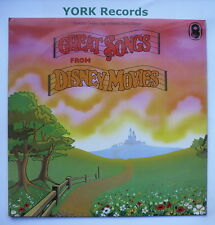 GREAT SONGS FROM DISNEY MOVIES - Excellent Condition LP Record World SH 268