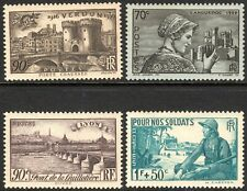 France 1939 Selection unmounted mint SG654/657/658/660