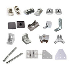 T Nuts & Right Angle End Cap Corner Bracket For 2020 Aluminium Extrusion Profile