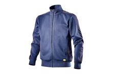 Felpa Armeric II Diadora utility blu maglia cotone lavoro sport casual zip tg L