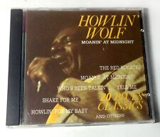 "HOWLIN' WOLF ""Moanin' At Midnight"" FULL LENGTH CD MINT / IMPORT 20 Tracks $2.98"
