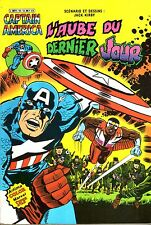 Captain America N°19 - L'aube du dernier jour - Arédit-Marvel Comics -1982 - BE