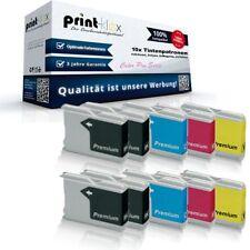 10x Mega Cartucce di Inchiostro per Brother MFC240C Cassette L Color Pro
